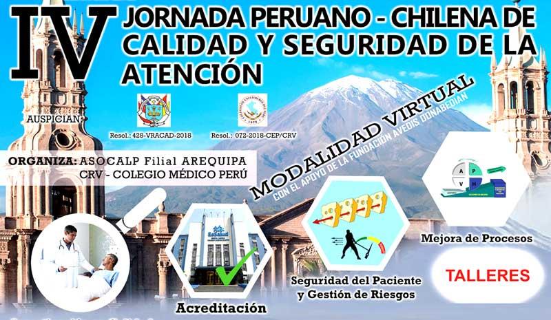 IV Jornadas Peruano - Chilena