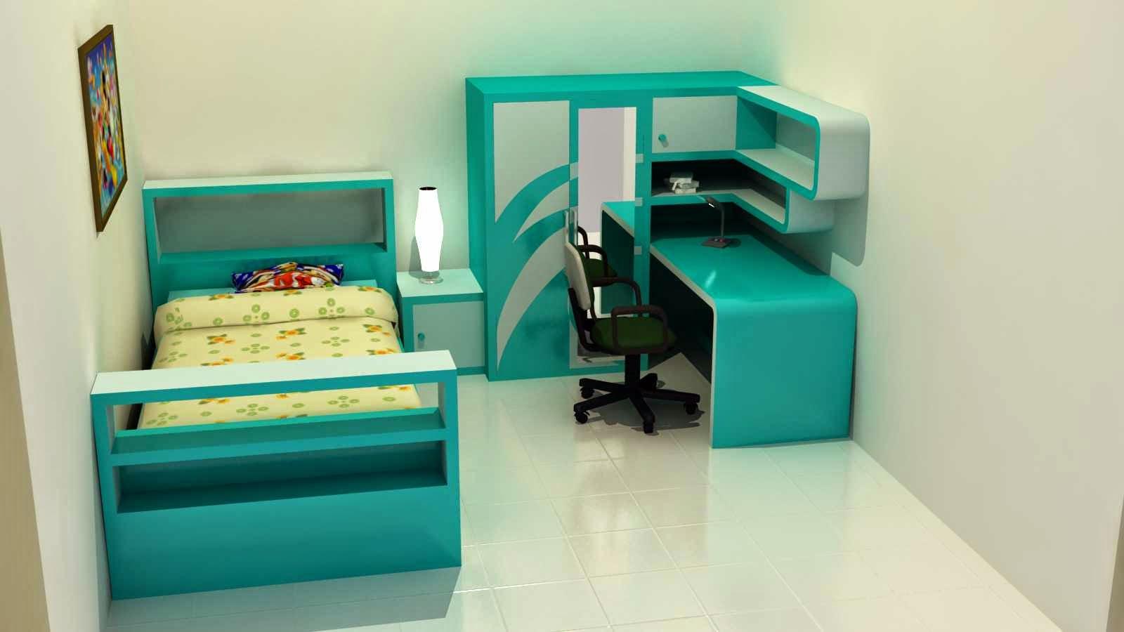 Kumpulan Desain Kamar Minimalis Untuk Anak Perempuan Terbaru Lucu