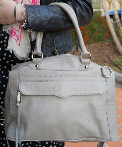 Away From the Blue australian daily outfit blog rebecca minkoff soft grey MAM bag