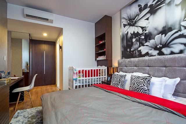 Phòng ngủ phục của dự án The Krista với thiết kế sang trọng