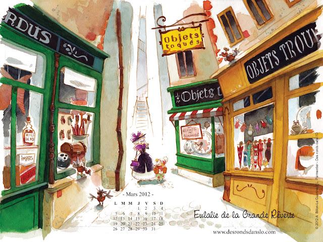 Fond d'écran mars 2012 - Eulalie de la Grande Rêverie n°2 (1600x1200)