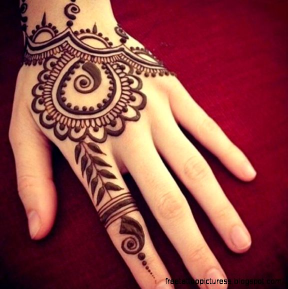 Henna Tattoos Inspiration   Natural Way To Decor Yourself