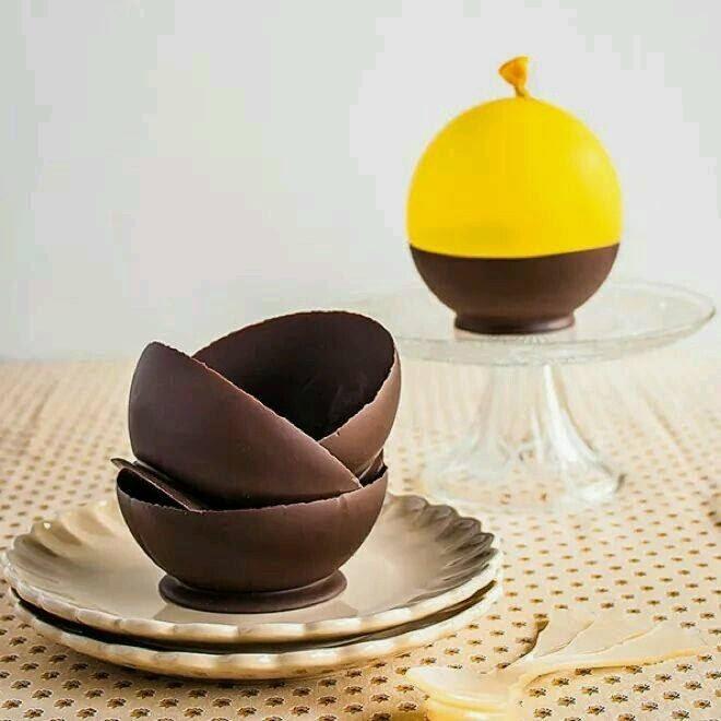 çikolata kase nasıl yapılır