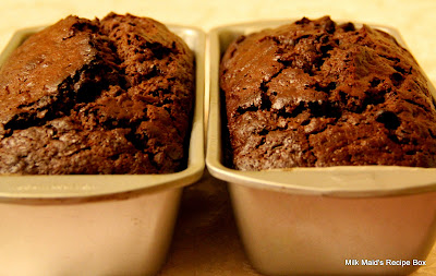 Double Chocolate Zucchini Bread* (Actually, It's More Cake-Like!)