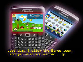 Free Download Theme Angry Birds for BlackBerry