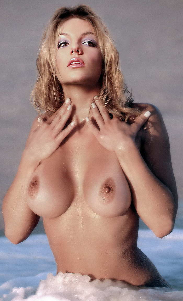 Naked britney breast