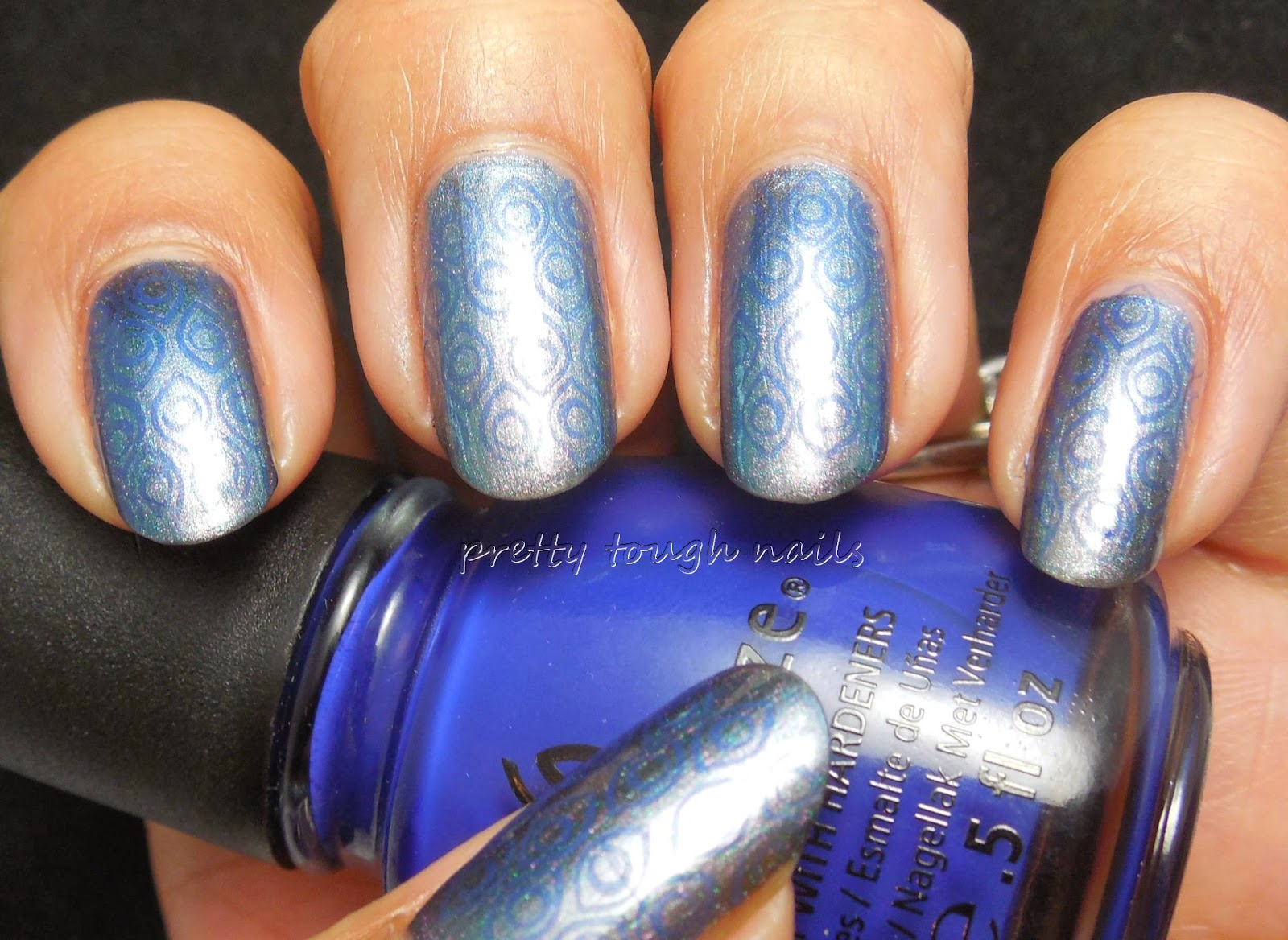 I Love Nail Polish My Little Glacier Stamping