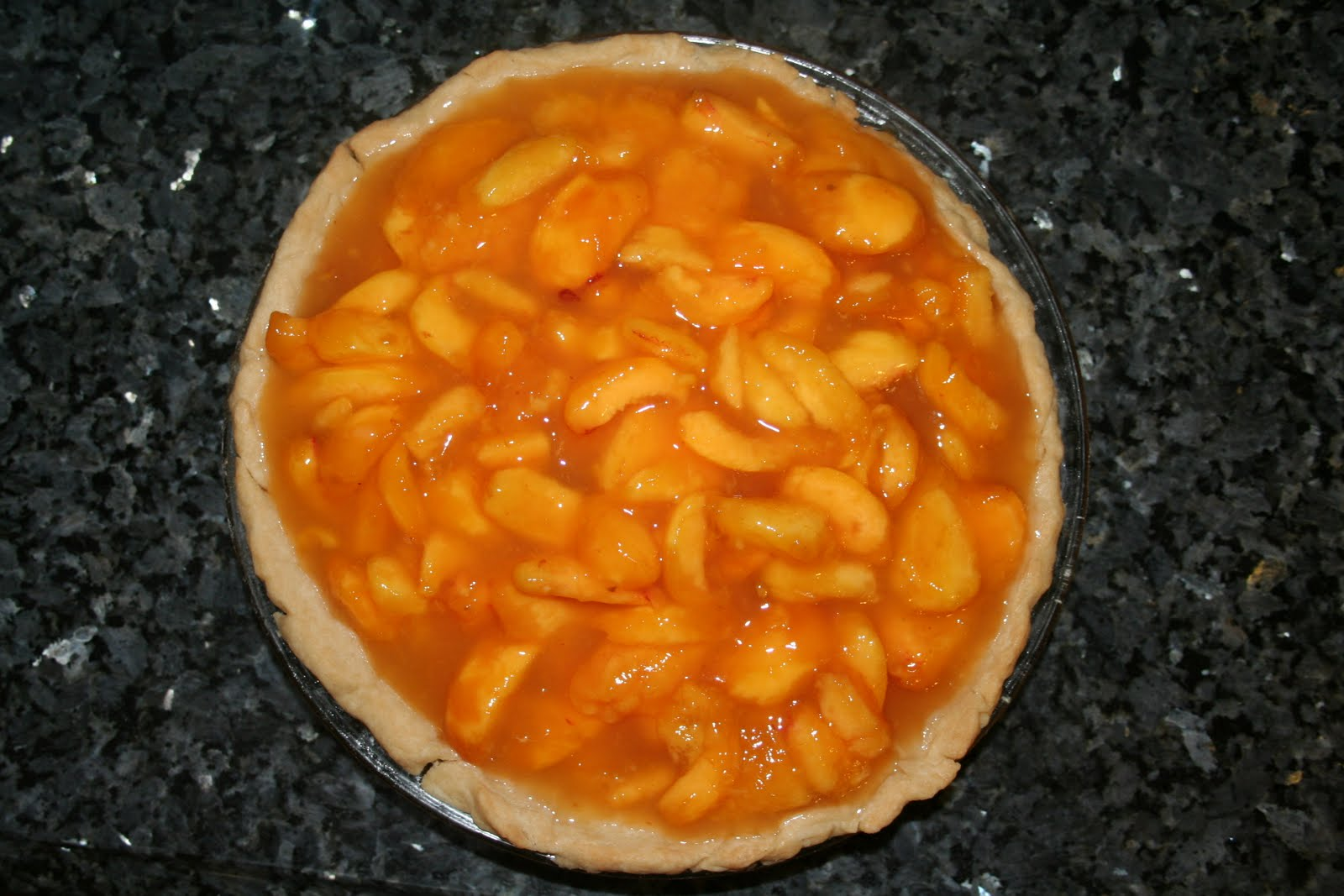 fresh peach pie 8 to 9 peaches peeled and sliced or if your peaches ...