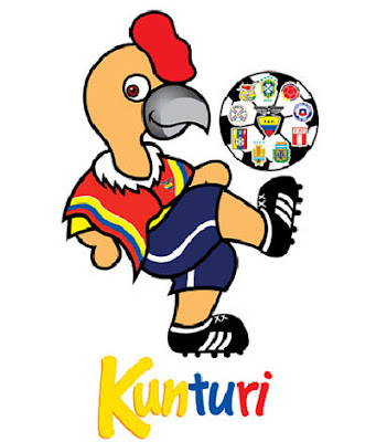 Kunturi, la mascota del Sudamericano Sub 17