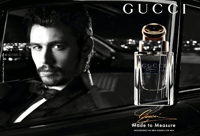 james franco gucci made to measure fragrance review