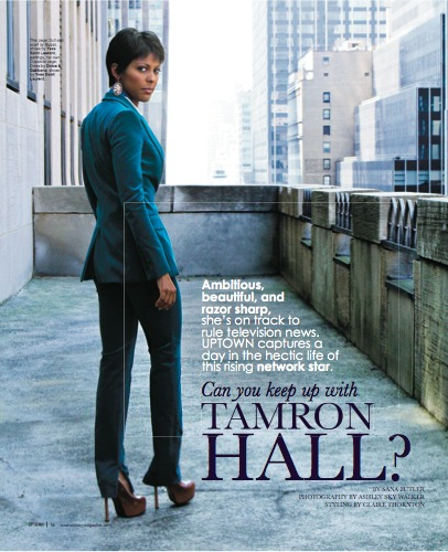 Tamron Hall Quietly Dating Lawrence O'Donnell -- How to Make an Office ...