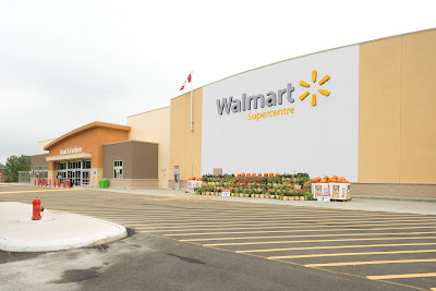 An existing Walmart Supercenter