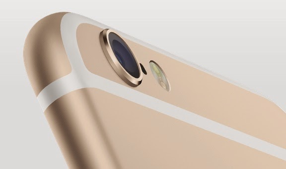 iPhone 6 has The same 8MP shooter