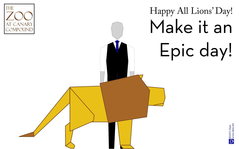 Make it an Epic day!