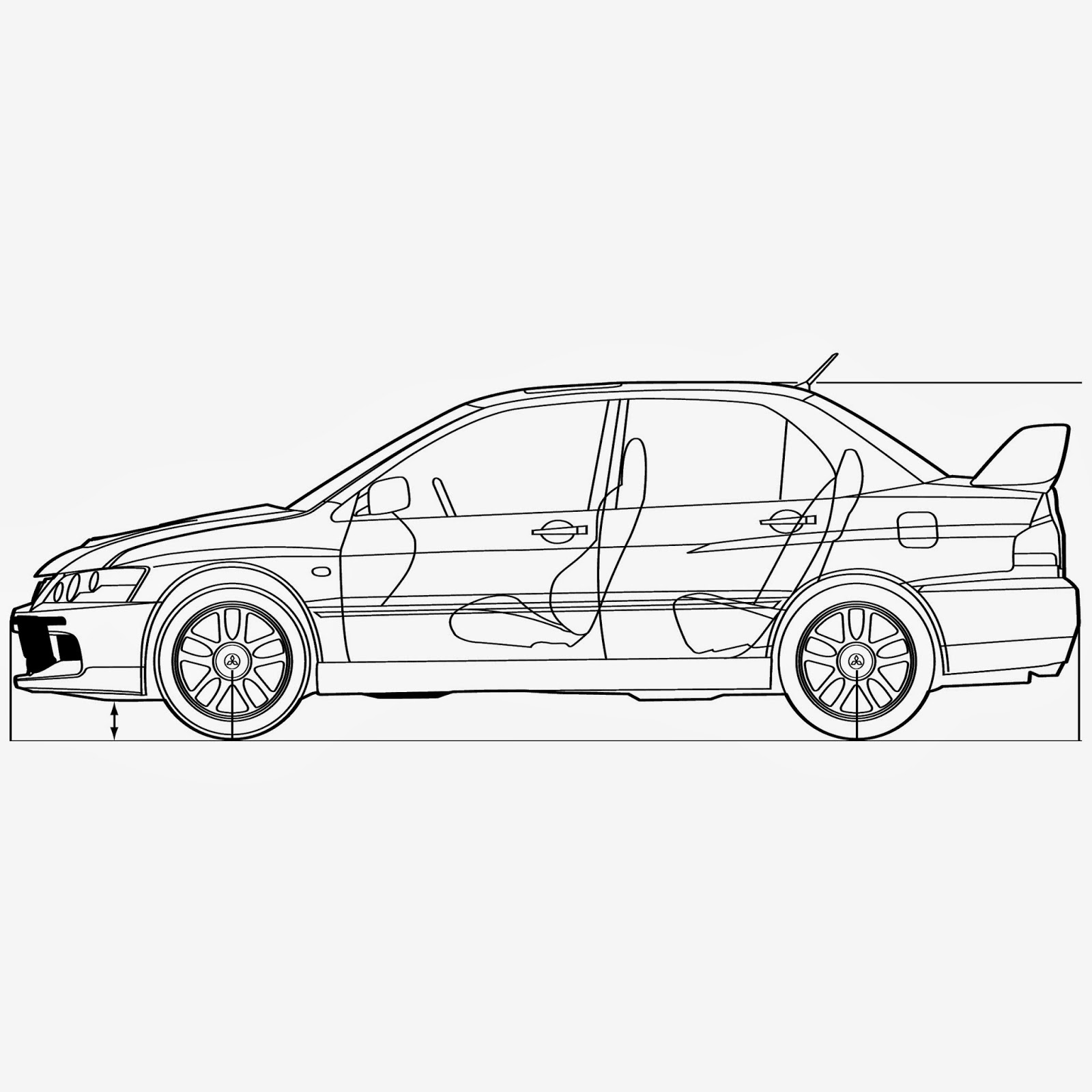 Draw Simple Car.Cars To Rent. Racecar Drawings. Simple Race Car ...
