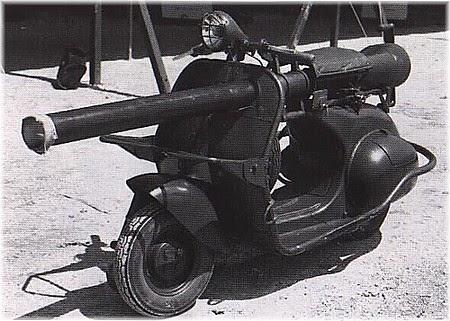 Foto Modifikasi Vespa Gembel