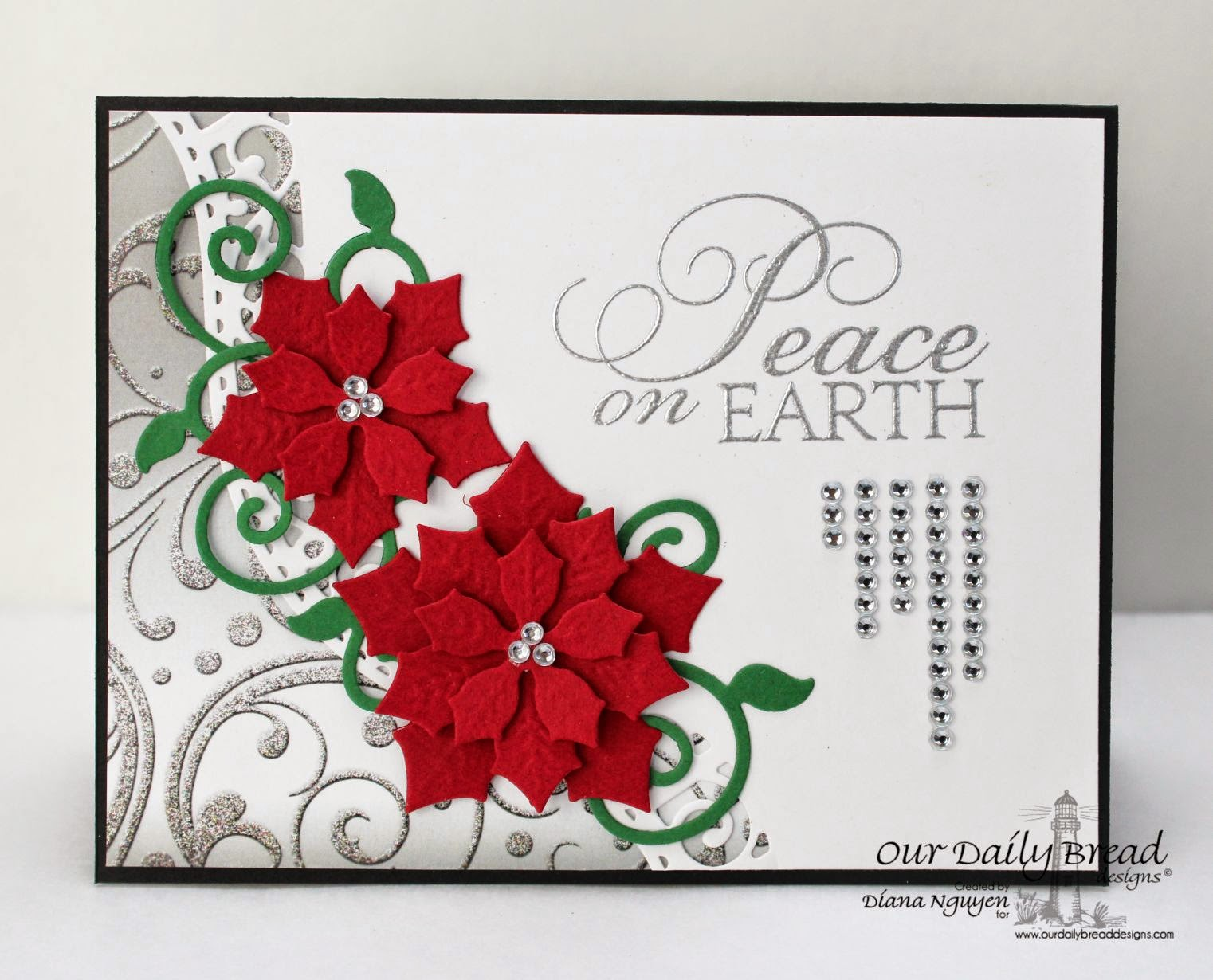Diana Nguyen, Our Daily Bread esigns, poinsettia, christmas
