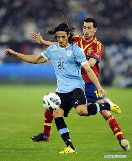 Hasil Pertandingan Spanyol vs Uruguay