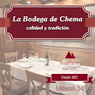BODEGA DE CHEMA. Menu degustación