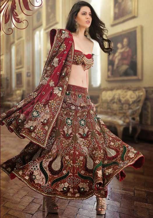 Elegant Indian Wedding Dresses 5 Awesome New Indian Bridal Wear