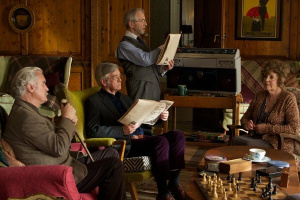 'Quartet' (2012) directed by Dustin Hoffman, 28th December ...