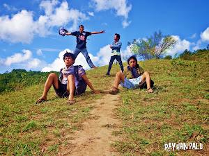 Rayhan Bersama Kawan di Gunung Masommba