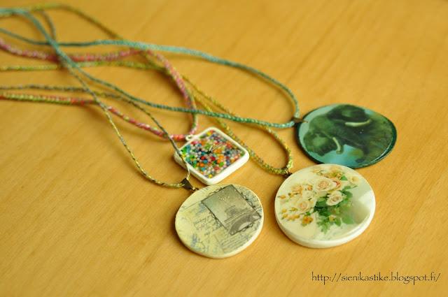 3D глазурь, glaze, pendants, lockets, kaulakoru, elephant, norsu, слон