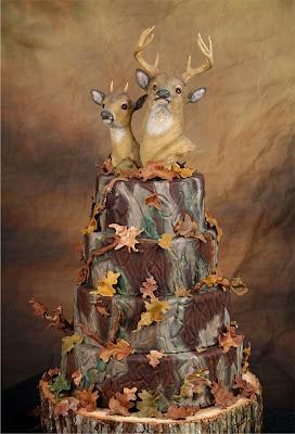 Camo Amazing Wedding Cakes