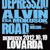 Alvin és a Mókusok, Debresszió és Road koncert Debrecenben