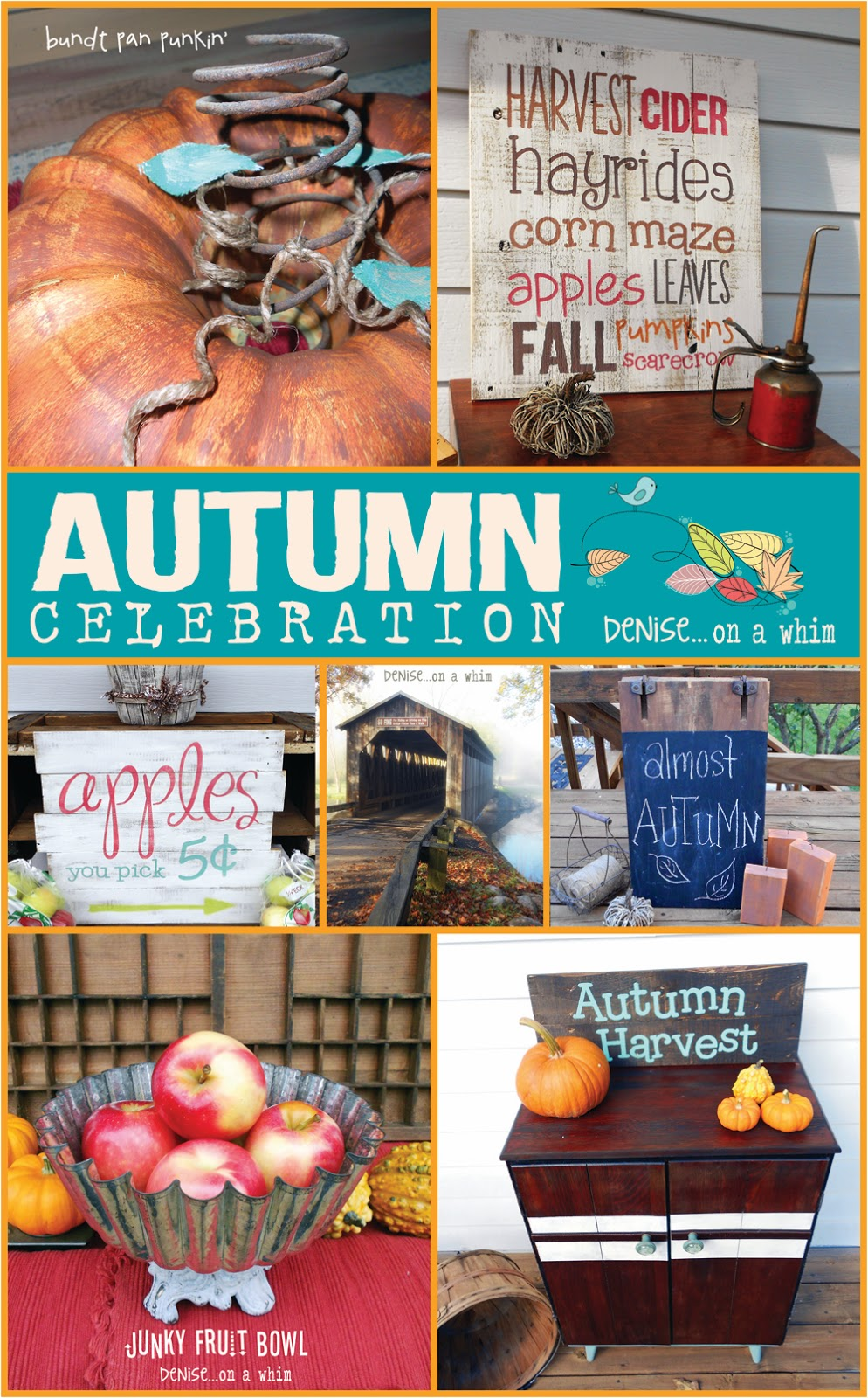 Autumn DIY Inspiration from Denise on a Whim