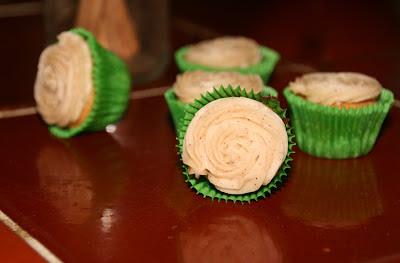 Cupcakes de gengibre y canela