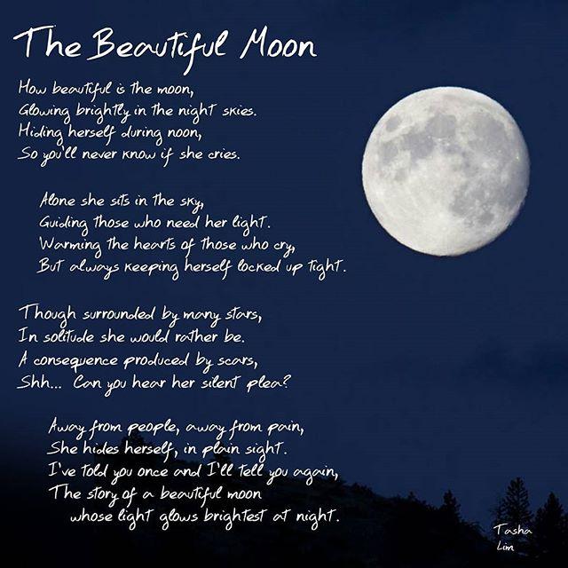 poem 11 the beautiful moon