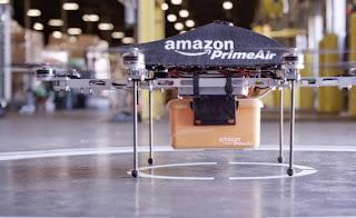 Amazon koestert grote ambities met bezorgdrones