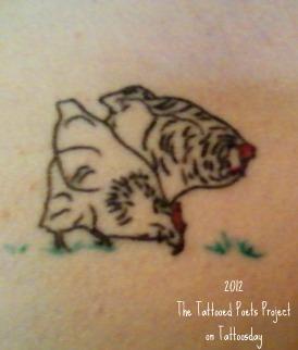 Tattoosday a tattoo blog the tattooed poets project for Tattoo parlors wichita ks