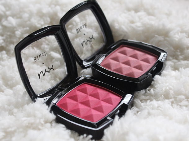 nyx spice red blush