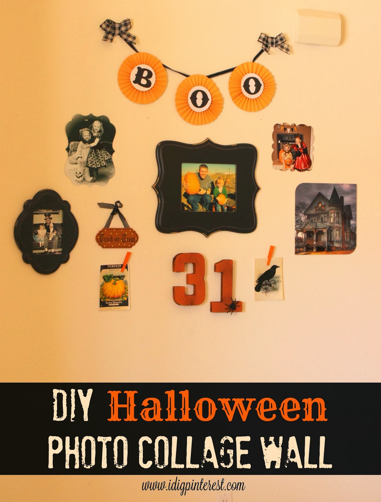 27 Halloween Decor, Craft, Recipe and Party Ideas on I Dig Pinterest ...