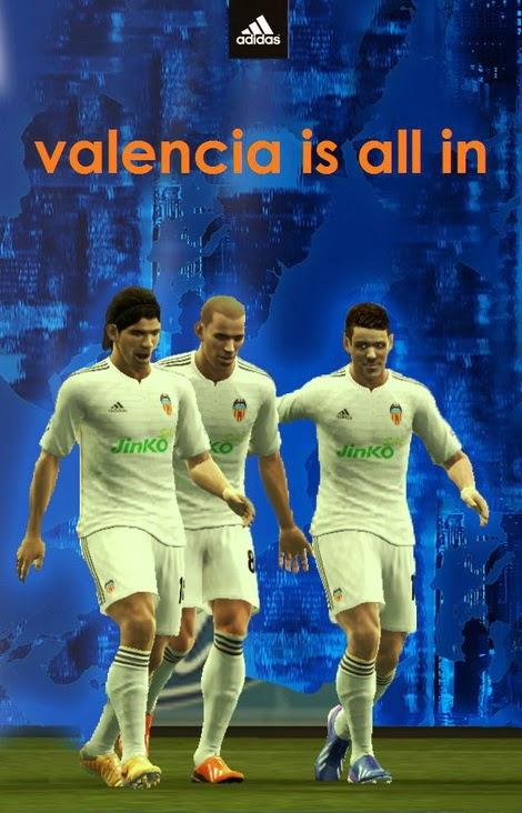 PES 2013 Valencia Fantasy Kits by TANIR