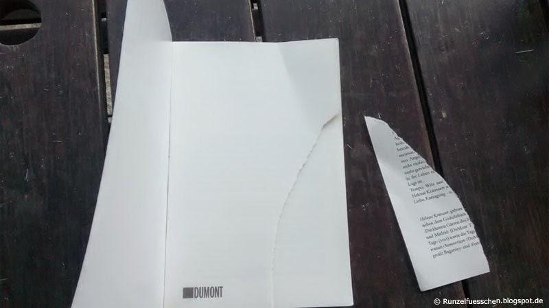 Runzelfuesschen Baby zerreisst Buch