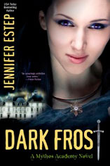 Jennifer Estep Dark Frost Mythos Academy #3