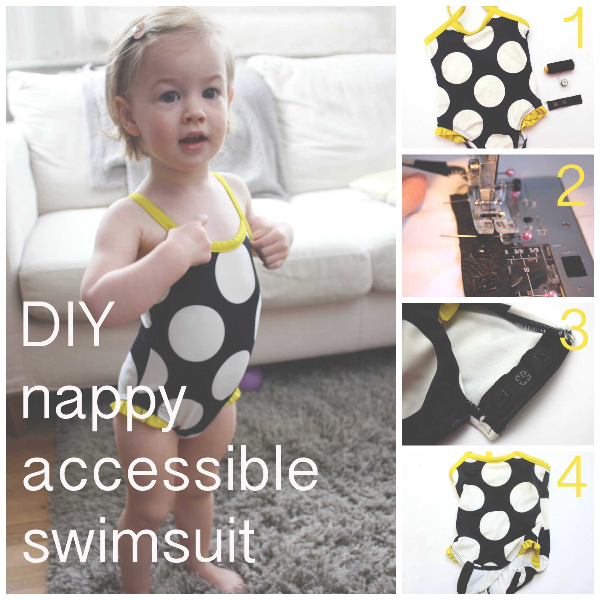 meg-made DIY nappy accessible swimsuit