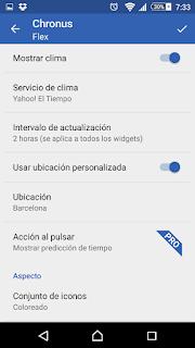 YoAndroideo.com: Chronus: Home & Lock Widget, un widget elegante y muy completo para nuestros Android