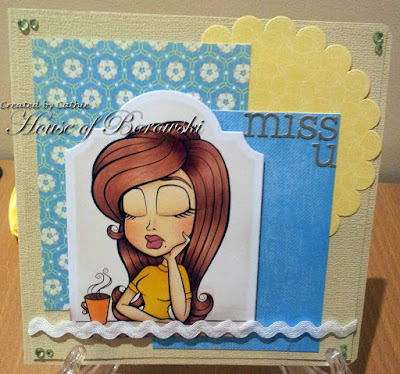 Simply Betty Stamps Missing You