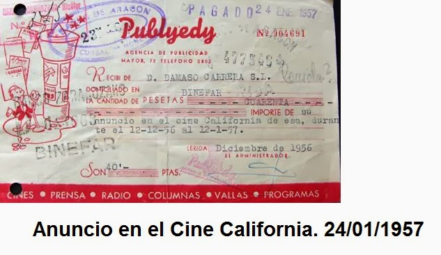 Cine California de Binéfar