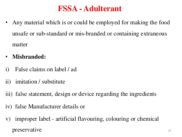 essays on food adulteration and awareness