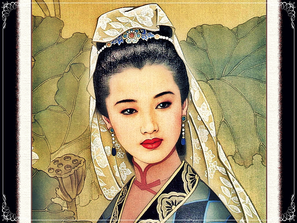 Drawings of the asian culture