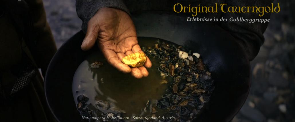 Original Tauerngold: Ausflug zum echten Goldwaschen in die Hohen Tauern