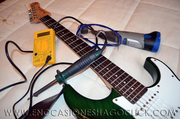 Cómo apantallar una guitarra eléctrica