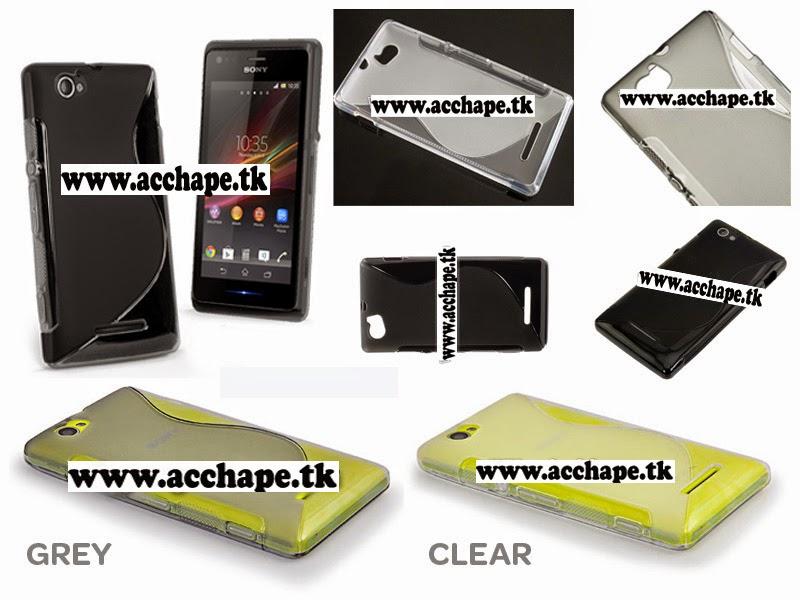 Jual S-Wave Soft Case Xperia M C1904/C1905