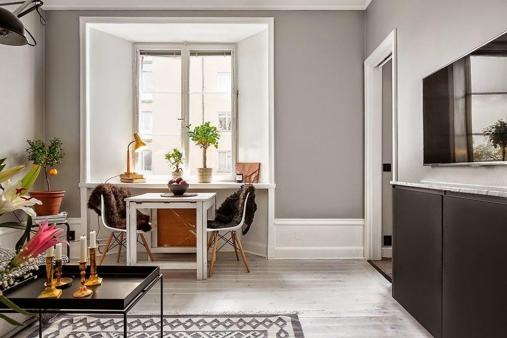 Grandes ideas para un apartamento peque o decorar tu - Ideas para decorar un apartamento pequeno ...
