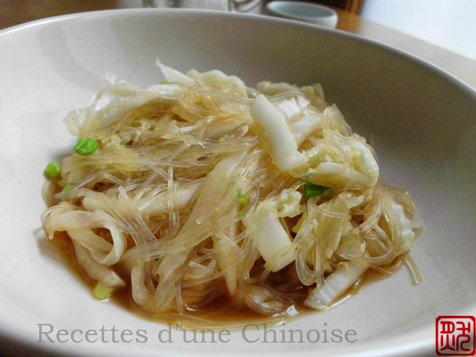 Recettes d 39 une chinoise chou chinois saut aux - Cuisiner du choux chinois ...